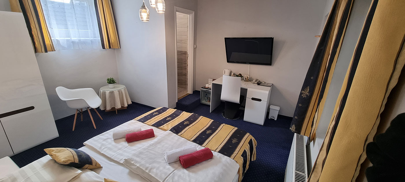 Romantik Hotel Eger Superior szoba